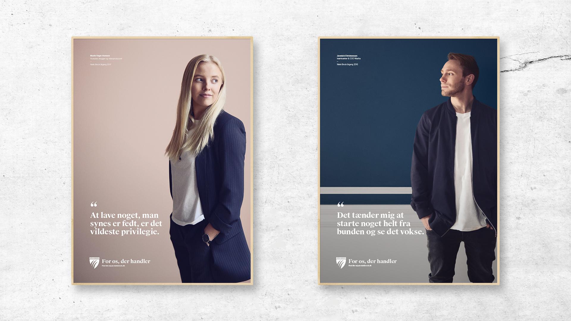 Niels Brock - Kampagne - Plakater