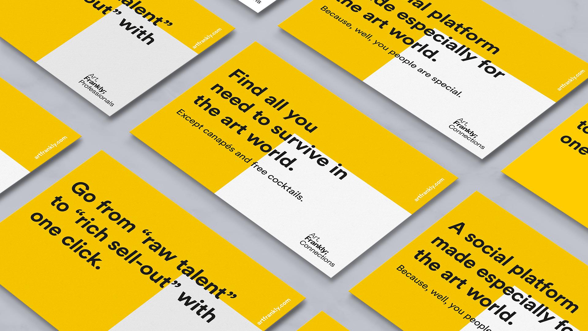 Art Frankly - Kampagne - Postkort