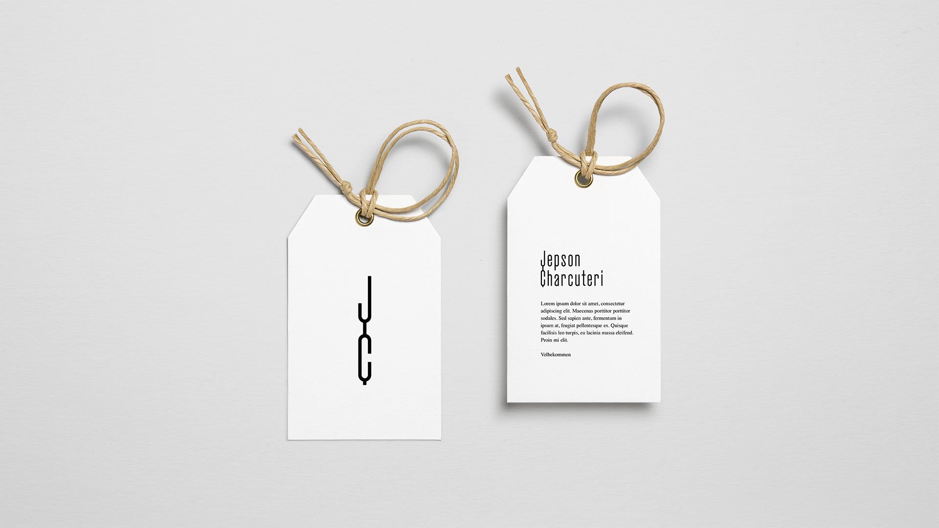 Jepson Charcuteri - Visuel Identitet - Tag