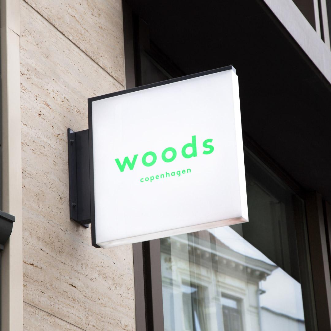 Tetris - Woods - Branding - Skilt