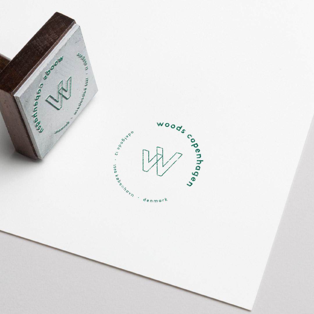 Tetris - Woods - Branding - Stempel