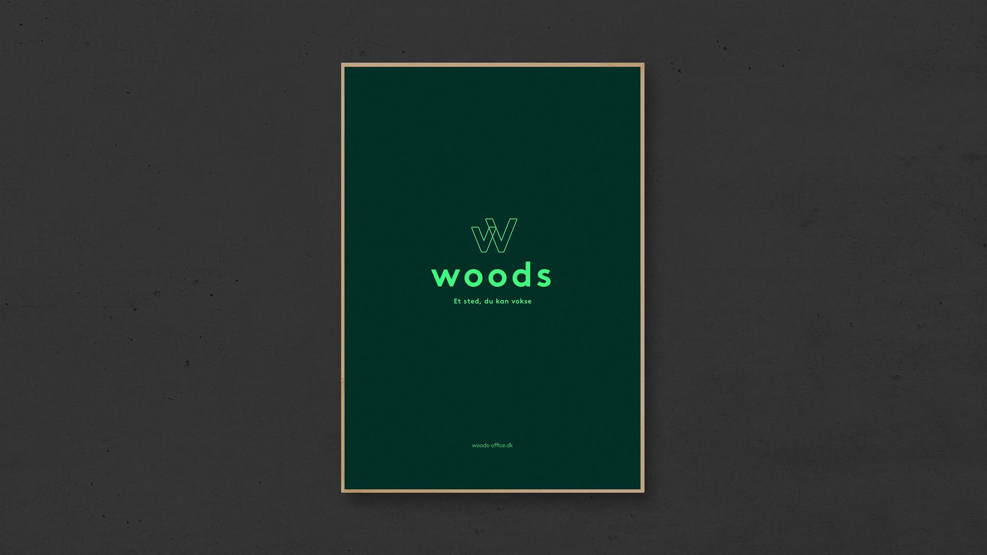 Tetris - Woods - Kampagne - Plakat