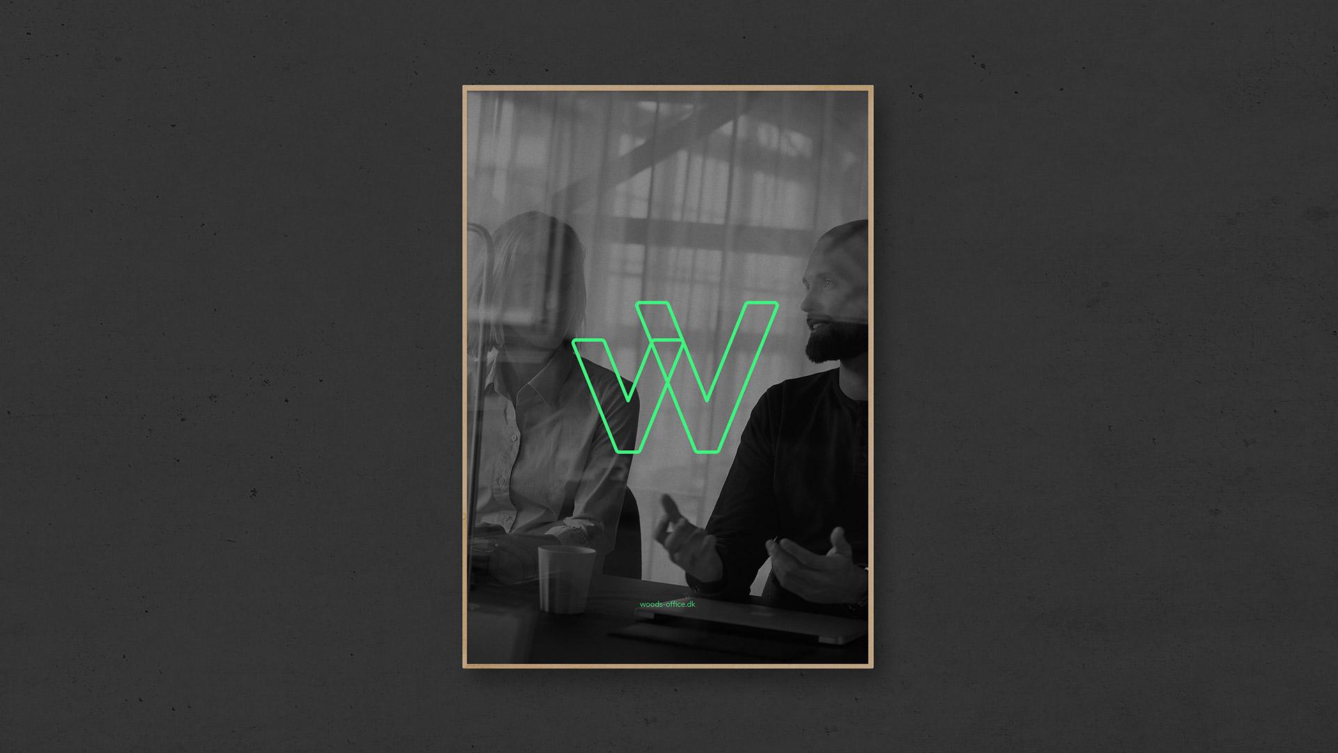 Tetris - Woods - Visuel identitet - Logo